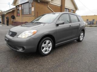 Used 2006 Toyota Matrix XR 1.8L Automatic Loaded Certified ONLY 107,000KMs for sale in Rexdale, ON