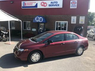 Used 2008 Honda Civic DX-G for sale in Kingston, ON