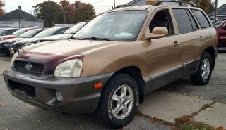 Used 2001 Hyundai Santa Fe GLS for sale in Sarnia, ON