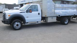 Used 2012 Ford F-450 14 FT FLAT BAD POWER TAIL GATE for sale in North York, ON