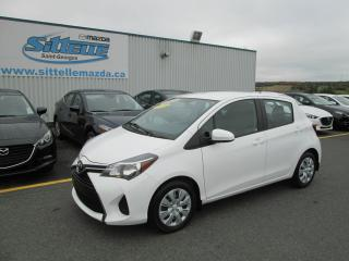 Used 2015 Toyota Yaris JAMAIS ACCIDENTE, Hayon 5 portes, Automa for sale in St-Georges, QC