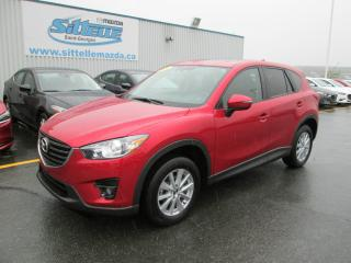 Used 2016 Mazda CX-5 JAMAIS ACCIDENTE GS TOIT OUVRANT for sale in St-georges, QC