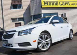 Used 2013 Chevrolet Cruze LT Turbo! Back Camera! Only $99/Bi-weekly! for sale in St. Catharines, ON