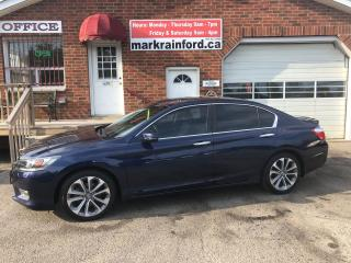 Used 2015 Honda Accord Sport 4 cyl Leather Sunroof for sale in Bowmanville, ON
