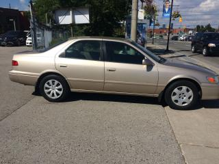 Used 2001 Toyota Camry 122KM,AUTO,4CYLEN,SAFETY+3YEARS WARRANTY INCLUDED for sale in Toronto, ON