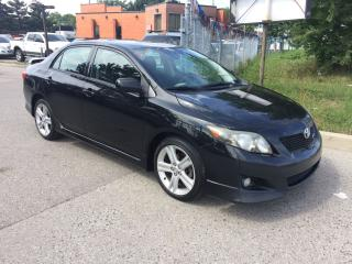 Used 2010 Toyota Corolla XRS,AUTO,SAFETY+3YEARS WARRANTY INCLUDED for sale in Toronto, ON