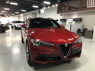 Used 2018 Alfa Romeo Stelvio Ti Sport for sale in Concord, ON