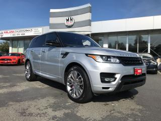 Used 2016 Land Rover Range Rover Sport Super Charged Dynamic Edition Fully Loaded Only 46 for sale in Langley, BC