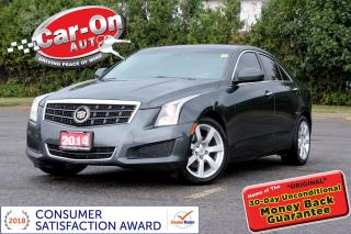 Used 2014 Cadillac ATS 2.5L LEATHER REAR CAM HTD SEATS BOSE LOADED for sale in Ottawa, ON