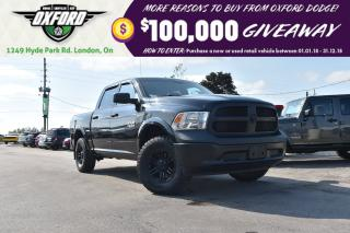 Used 2015 RAM 1500 ST - 3.0 ecodiesel, 4x4, aggressive off-road tires for sale in London, ON