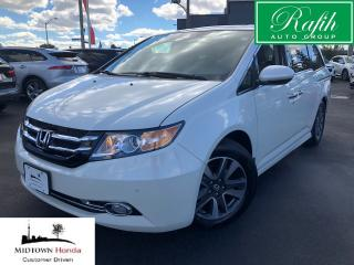 Used 2017 Honda Odyssey Touring-Like a new one-Super clean for sale in North York, ON