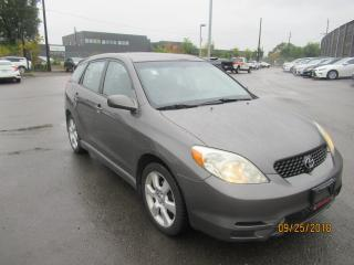 Used 2004 Toyota Matrix XR for sale in Toronto, ON