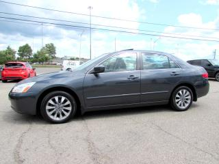 Used 2005 Honda Accord EX-L V Leather Automatic for sale in Milton, ON