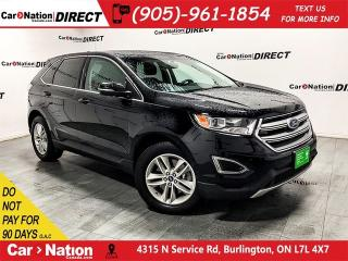 Used 2016 Ford Edge SEL| AWD| BACK UP CAMERA & SENSORS| for sale in Burlington, ON