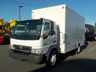 Used 2006 International CF500 Diesel 16 Foot Cube Van for sale in Burnaby, BC