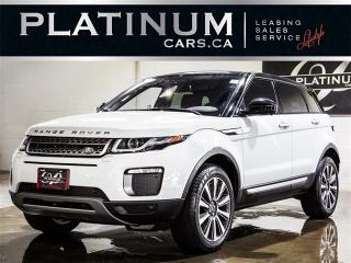 Used 2016 Land Rover Range Rover Evoque HSE, NAVI, PANO, CAM, LEATHER, HEADUP, Lane Depart Range Rover Evoque for sale in Toronto, ON