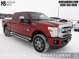 Used 2016 Ford F-350 Super Duty Platinum  - One owner for sale in Paradise Hill, SK