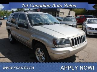 Used 2004 Jeep Grand Cherokee Columbia Edition 4dr Columbia Edition for sale in Edmonton, AB
