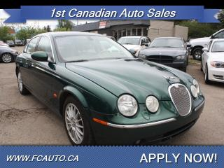 Used 2006 Jaguar S-Type 3.0 for sale in Edmonton, AB