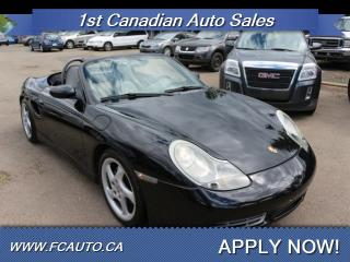 Used 2001 Porsche Boxster for sale in Edmonton, AB