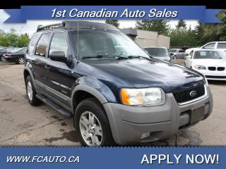 Used 2002 Ford Escape XLT Choice for sale in Edmonton, AB