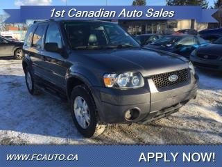 Used 2006 Ford Escape Limited for sale in Edmonton, AB