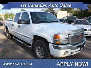 Used 2005 GMC Sierra 1500 SLT 4dr Crew Cab SLT for sale in Edmonton, AB