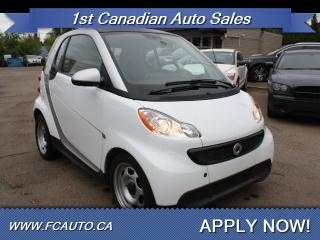 Used 2014 Smart fortwo Pure fortwo for sale in Edmonton, AB