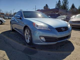 Used 2010 Hyundai Genesis Coupe 2.0T PREMIUM-LEATHER-SUNROOF-LOW Monthly PAYMENTS! Genesis Coupe for sale in Edmonton, AB