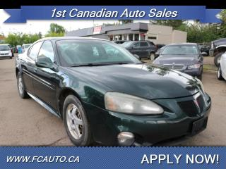 Used 2004 Pontiac Grand Prix GT1 for sale in Edmonton, AB