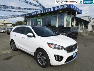Used 2018 Kia Sorento SX Limited V6 AWD for sale in Surrey, BC