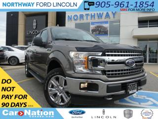 Used 2018 Ford F-150 NAV | REAR CAM | REMOTE START | HTD SEATS | for sale in Brantford, ON