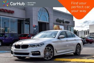 Used 2018 BMW 5 Series 530i xDrive|M Sports Pkg.|H/K Audio|HeadsUp|Heat Seats|19