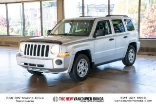 Used 2008 Jeep Patriot Sport 4D Utility for sale in Vancouver, BC