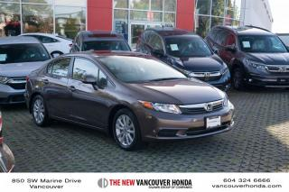 Used 2012 Honda Civic Sedan EX at for sale in Vancouver, BC