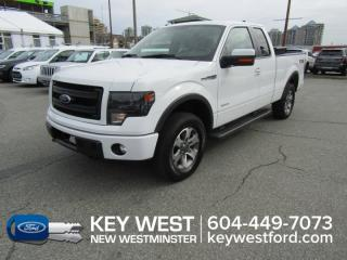 Used 2013 Ford F-150 FX4 4x4 Super Cab 145wb Luxury Pkg Sunroof Leather for sale in New Westminster, BC