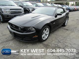 Used 2014 Ford Mustang GT Premium Convertible Leather Heated Seats for sale in New Westminster, BC