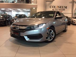 Used 2017 Honda Civic Sedan LX-AUTO-BACK UP CAM-BLUETOOTH-ONLY 45KM for sale in Toronto, ON