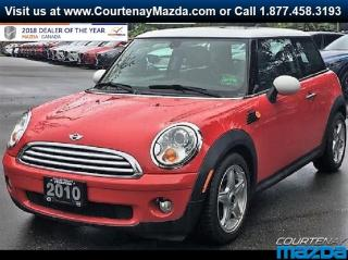 Used 2010 MINI Cooper for sale in Courtenay, BC