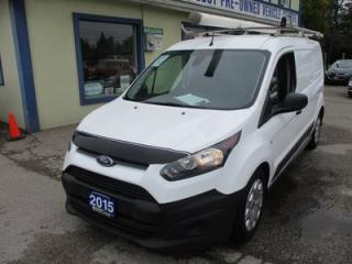 Used 2015 Ford Transit Connect CARGO MOVING XLT MODEL 2 PASSENGER 2.5L - DOHC.. SHELVING.. DIVIDER.. SLIDING DOOR.. SYNC TECHNOLOGY.. AIR CONDITIONING.. for sale in Bradford, ON