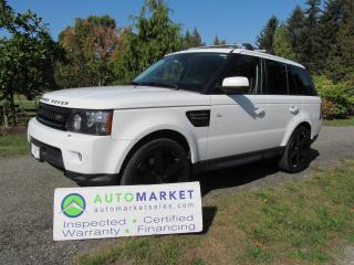 Used 2012 Land Rover Range Rover Sport HSE, INSPECTED, FREE WARRANTY, FINANCING for sale in Surrey, BC