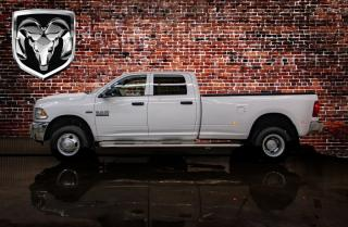 Used 2016 RAM 3500 4x4 Crew Cab SXT Dually for sale in Red Deer, AB