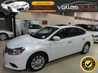 Used 2018 Nissan Sentra SV| SUNROOF| ALLOYS| R/CAMERA for sale in Vaughan, ON
