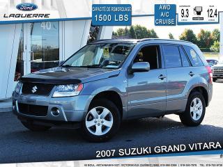 Used 2007 Suzuki Grand Vitara Jx A/c Cruise for sale in Victoriaville, QC