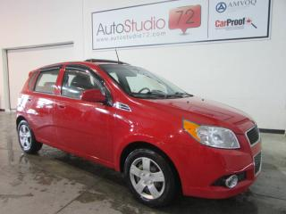Used 2011 Chevrolet Aveo TOIT**CRUISE**A/C** for sale in Mirabel, QC