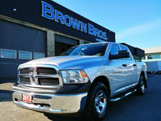 Used 2012 RAM 1500 ST, LOCAL, CREW, 4X4, 604-496-5123 for sale in Surrey, BC