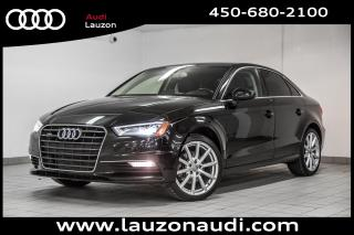 Used 2015 Audi A3 2.0T Progressiv for sale in Laval, QC