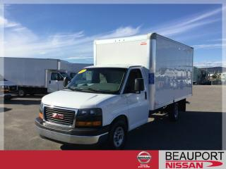 Used 2017 GMC Savana GMC SAVANA 3500 CUBE 14 PIEDS 2017 for sale in Beauport, QC