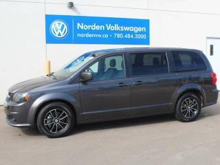 Used 2018 Dodge Grand Caravan GT - HEATED LEATHER SEATS / POWER REAR HATCH / ALLOY WHEELS for sale in Edmonton, AB