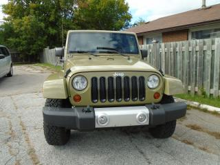 Used 2013 Jeep Wrangler Sahara for sale in Orillia, ON